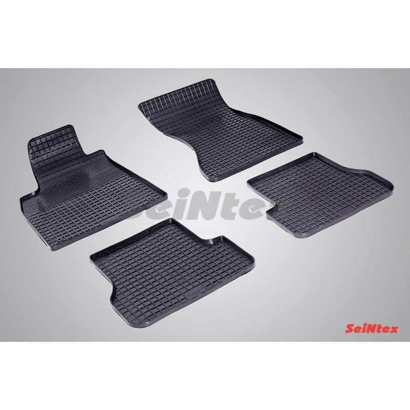 Резиновые коврики сетка Audi A-6 (4G C7)