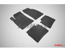 Резиновые коврики сетка Hyundai Sonata V