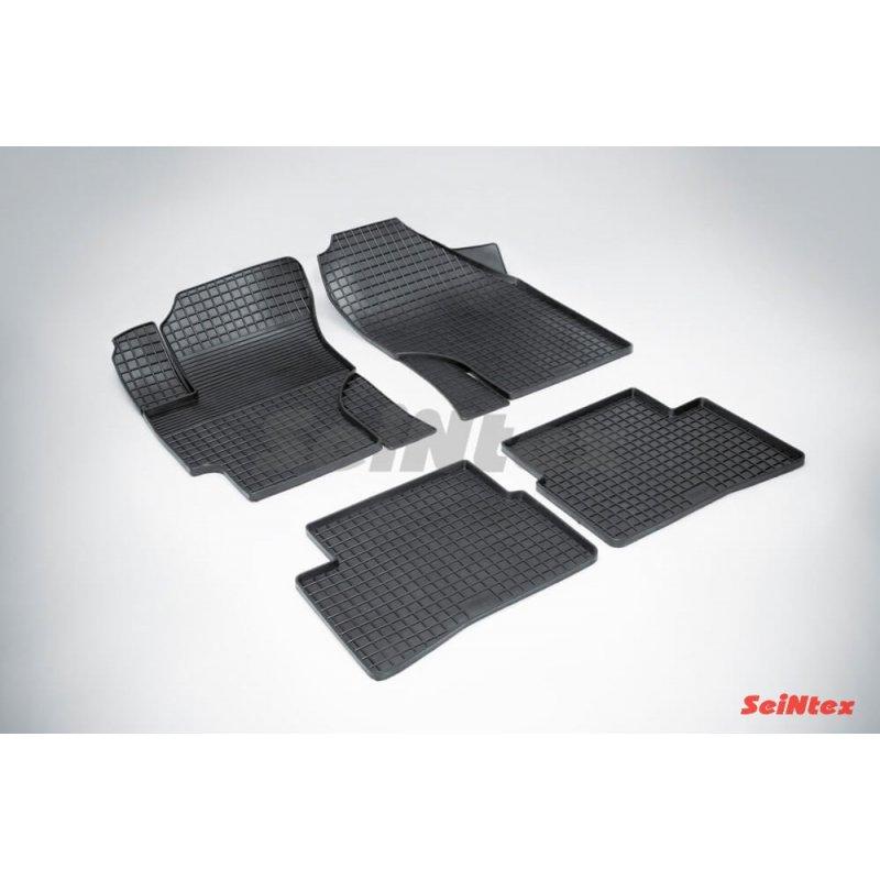 Резиновые коврики сетка Hyundai Verna