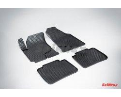 Резиновые коврики сетка KIA Cerato