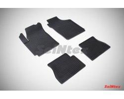 Резиновые коврики сетка KIA Picanto