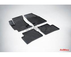 Резиновые коврики сетка KIA Rio I