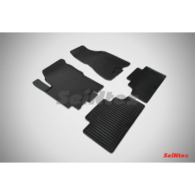 Резиновые коврики сетка KIA Sportage II