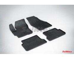 Резиновые коврики сетка Mazda 3 2003