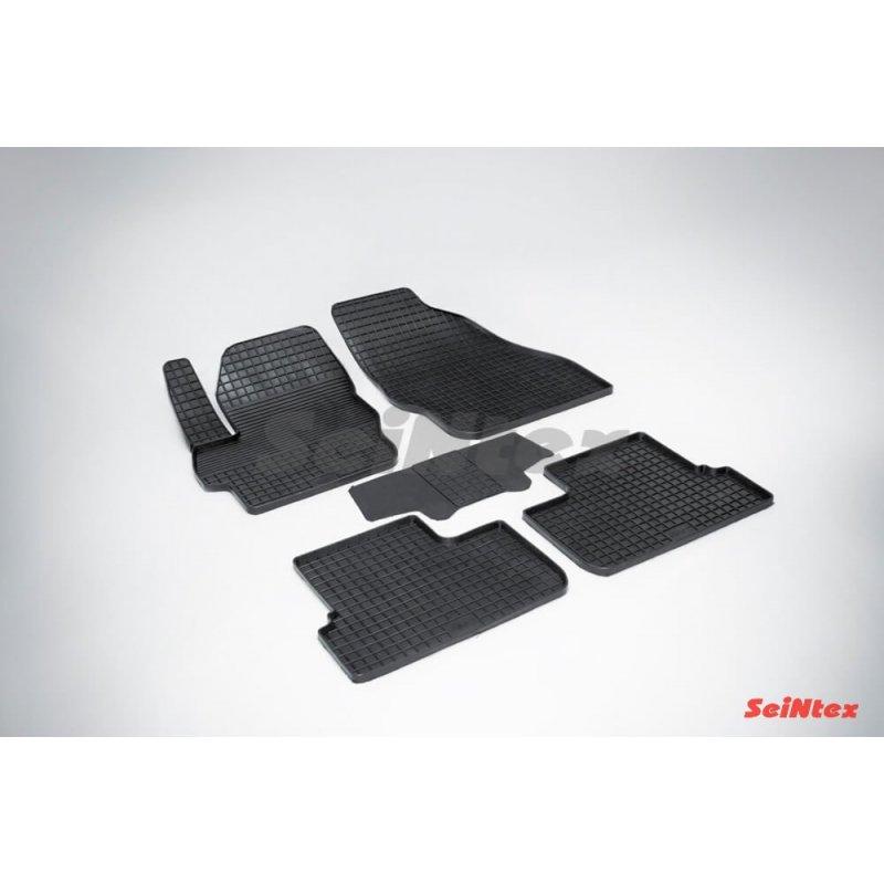 Резиновые коврики сетка Mazda 3 2009