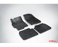 Резиновые коврики сетка Mazda 6