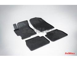 Резиновые коврики сетка Mazda 6 2002