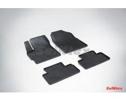 Резиновые коврики сетка Mazda CX-7