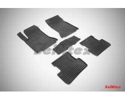 Резиновые коврики сетка Mercedes-Benz GLA-Class X156