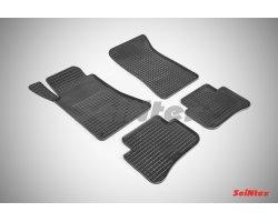 Резиновые коврики сетка Mercedes-Benz C-Class W204 4matic