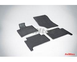 Резиновые коврики сетка Audi Q-7