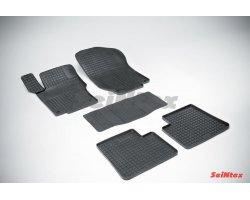 Резиновые коврики сетка Mercedes-Benz M-Class W164