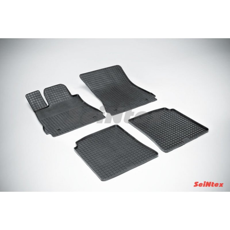 Резиновые коврики сетка Mercedes-Benz S-Class W221