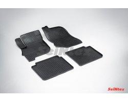 Резиновые коврики сетка Mitsubishi Galant IX