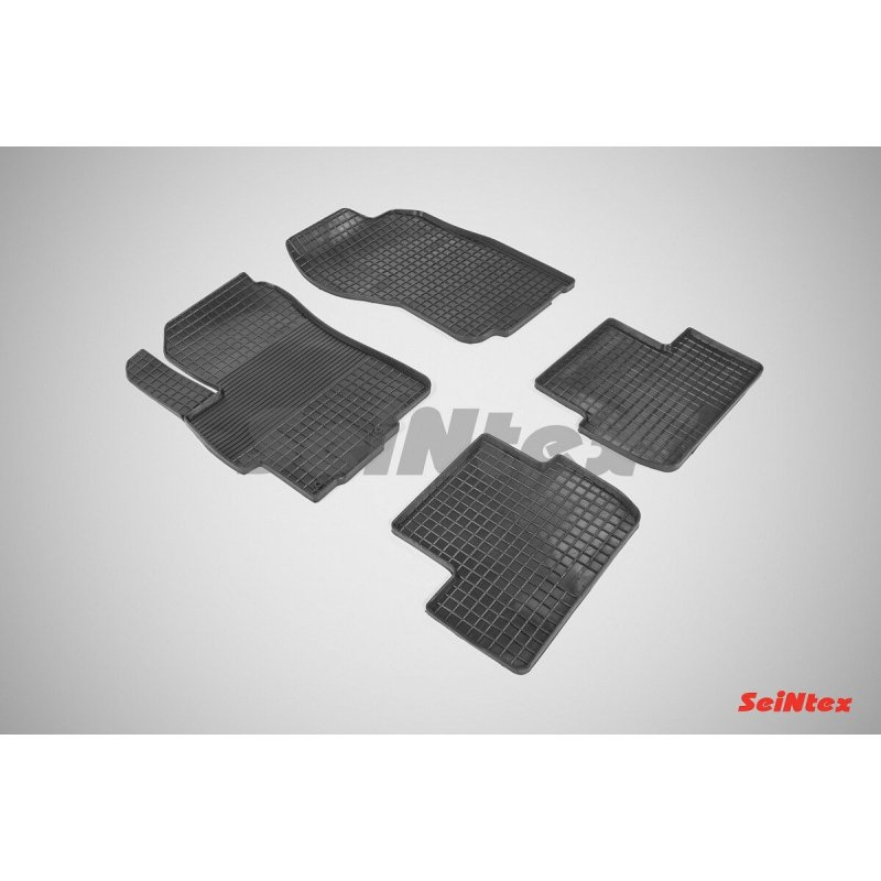 Резиновые коврики сетка Mitsubishi Lancer X