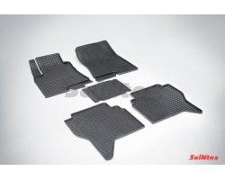 Резиновые коврики сетка Mitsubishi Pajero IV