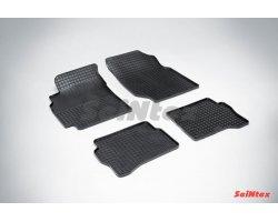 Резиновые коврики сетка Nissan Almera classic (B10)