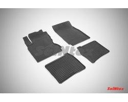 Резиновые коврики сетка Nissan Note