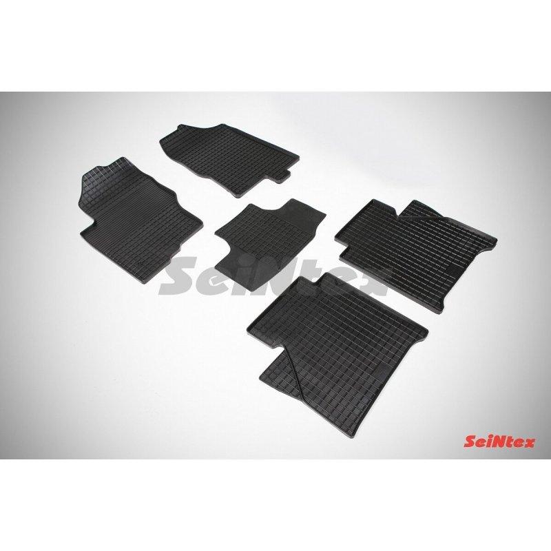 Резиновые коврики сетка Nissan Navara III