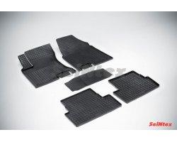 Резиновые коврики сетка Nissan Qashqai