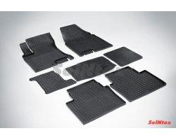Резиновые коврики сетка Nissan Qashqai+2
