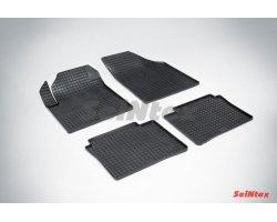 Резиновые коврики сетка Nissan Teana I