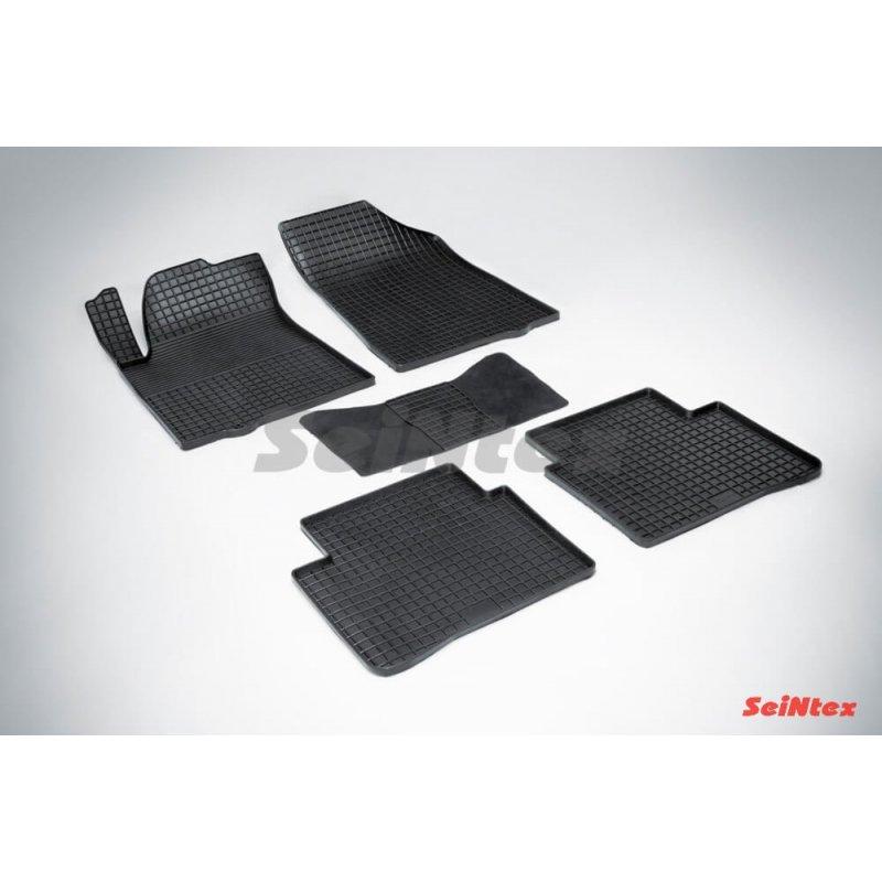 Резиновые коврики сетка Nissan Teana II