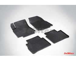 Резиновые коврики сетка Nissan Tiida