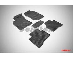 Резиновые коврики сетка Nissan X-Trail