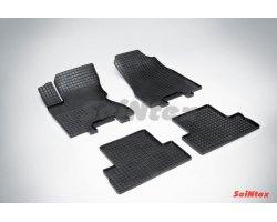 Резиновые коврики сетка Nissan X-Trail (T31)