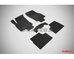 Коврики в салон резиновые сетка для OPEL ASTRA H 2004-2009