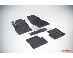 Резиновые коврики сетка Opel Corsa D