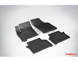 Резиновые коврики сетка Opel Meriva (T3000)