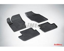 Резиновые коврики сетка Peugeot 307