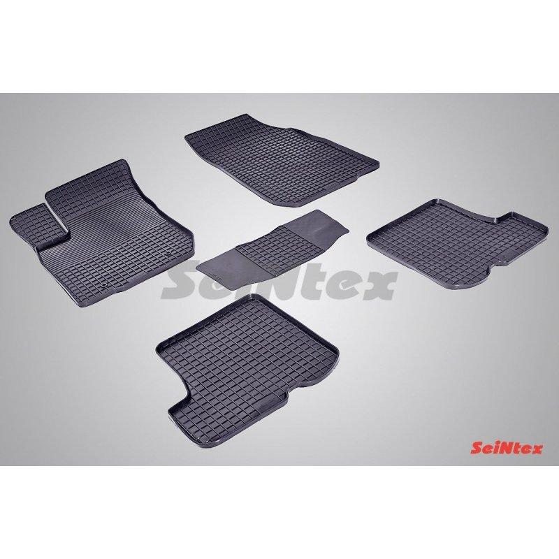 Резиновые коврики сетка Renault Sandero