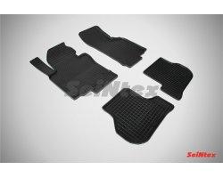 Резиновые коврики сетка Volkswagen Golf V