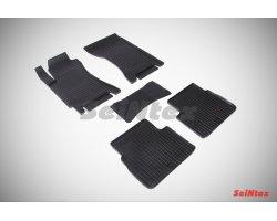 Резиновые коврики сетка Subaru Forester II