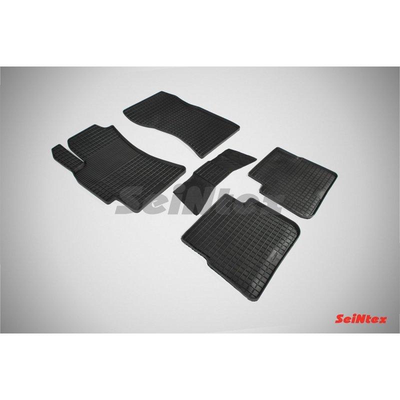 Резиновые коврики сетка Subaru Forester III