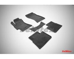 Резиновые коврики сетка Subaru Impreza