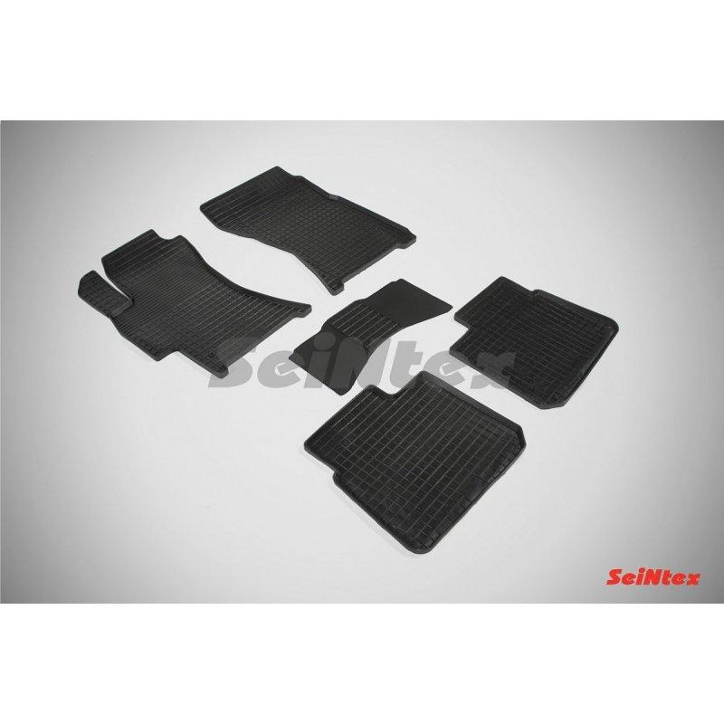 Резиновые коврики сетка Subaru Outback III