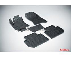 Резиновые коврики сетка Subaru Tribeca