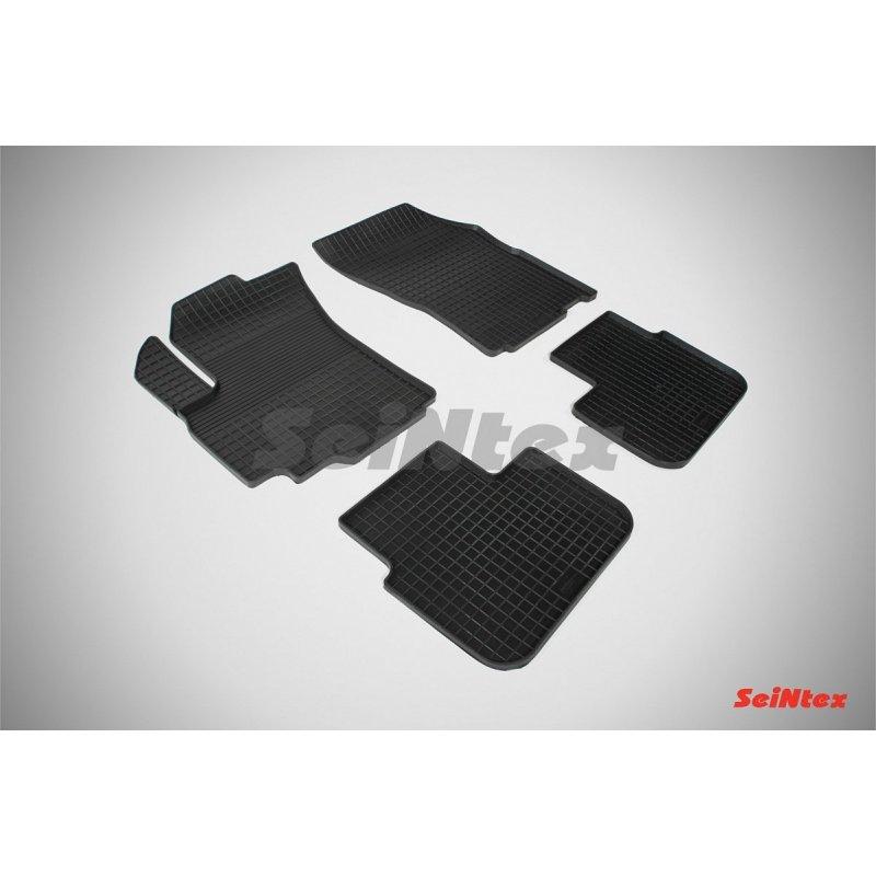Резиновые коврики сетка Suzuki SX4