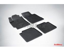 Резиновые коврики сетка Toyota Camry
