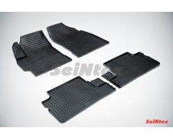 Резиновые коврики сетка Toyota Corolla X