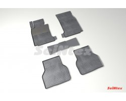 Резиновые коврики сетка BMW 5 Ser E-39