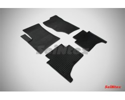 Резиновые коврики сетка Volkswagen Touareg I