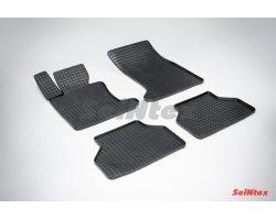 Резиновые коврики сетка BMW 5 Ser E-60