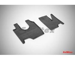 Резиновые коврики сетка Mercedes-Benz ATEGO