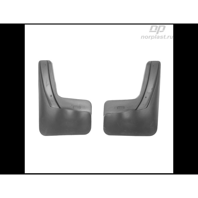 Брызговики для Kia Rio (2011) (RUS(QB) SD (задние) пара