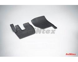 Резиновые коврики сетка Renault Premium